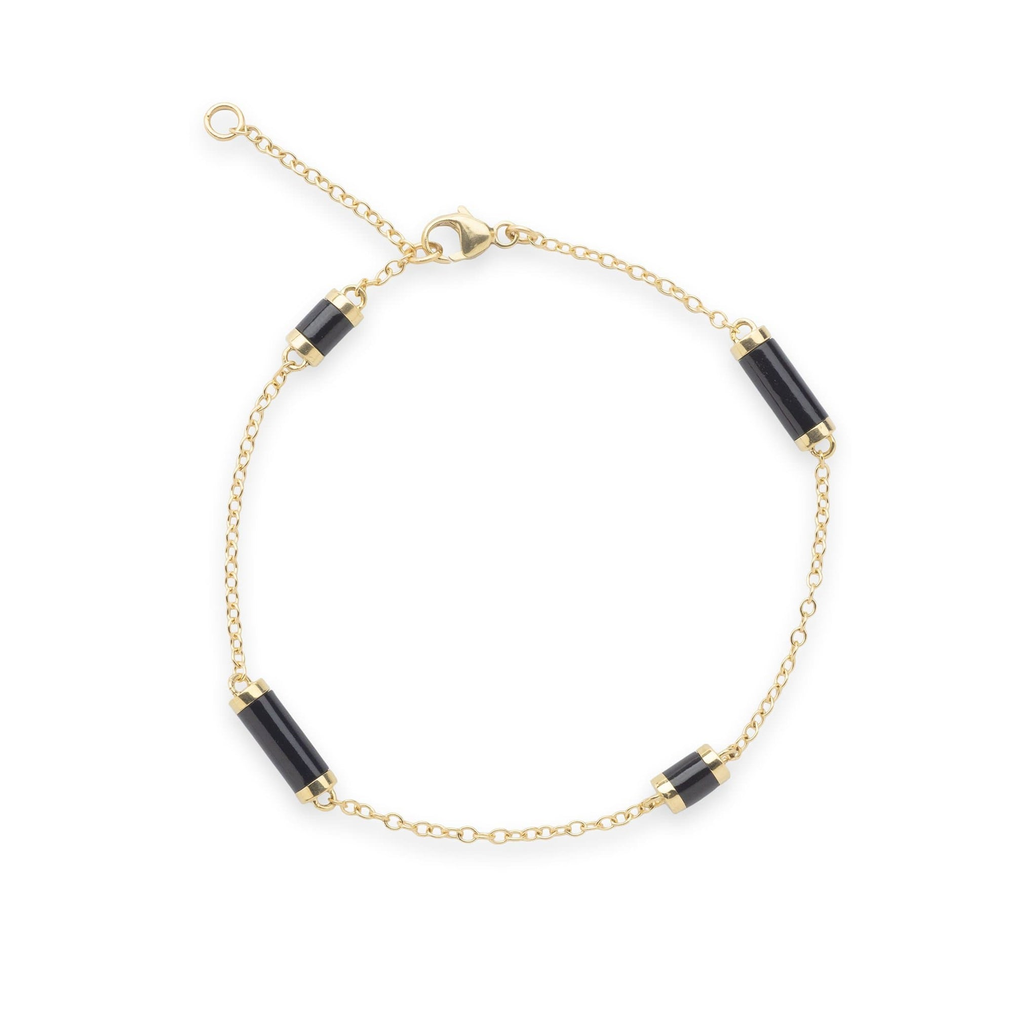 Ocean Chimes Station Bracelet in 14K Yellow Gold - Maui Divers Jewelry