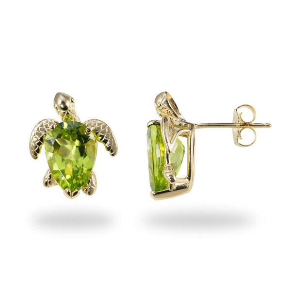 studs set faceted product sterling stone in silver peridot earrings pierced stones