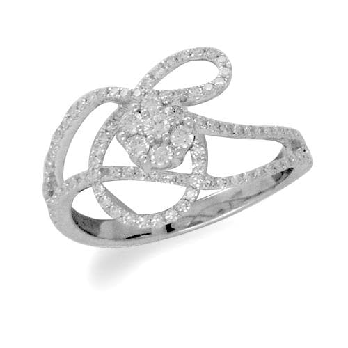 Diamond Ring in 14K Yellow and White Gold-[SKU]