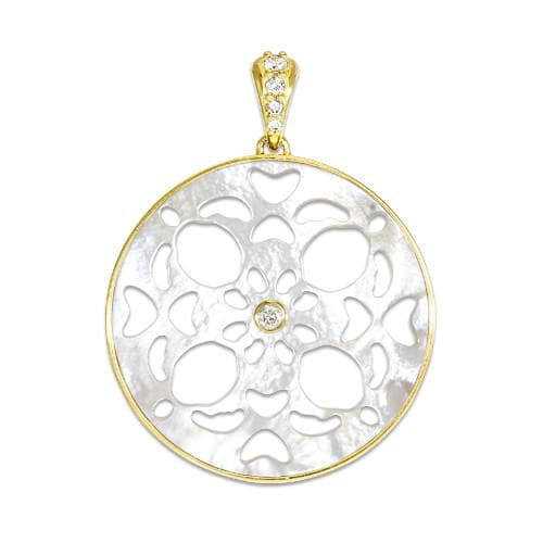 Tahitian mother of pearl honu pendant with diamonds in 14k yellow gold tahitian mother of pearl honu pendant with diamonds in 14k yellow gold 25mm aloadofball Gallery