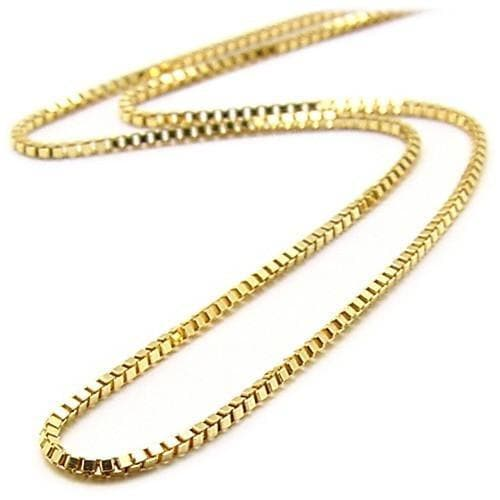 "16"" 0.8MM Box Chain in 14K Yellow Gold"