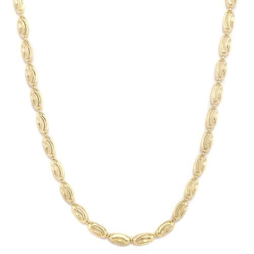 "16"" 1.8MM Ovalina Chain in 14K Yellow Gold"
