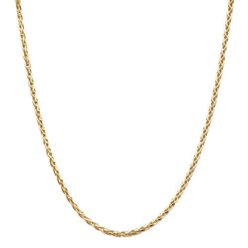 "16"" 1.2MM Espiga Chain in 14K Yellow Gold"