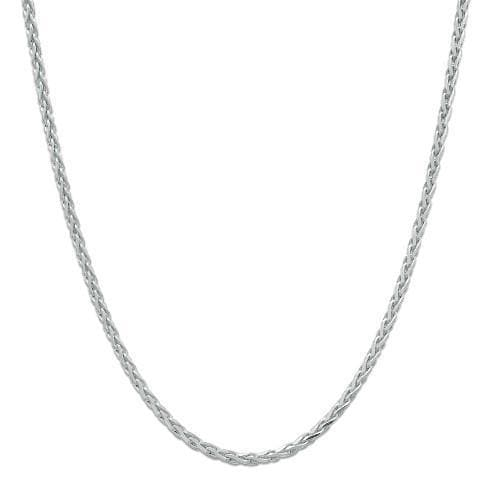 "24"" 1.0mm Adjustable Espiga Chain in Sterling Silver - Maui Divers Jewelry"