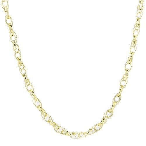 "18"" (1.8mm) Bella Link Chain in 14k Yellow Gold-036-13399"