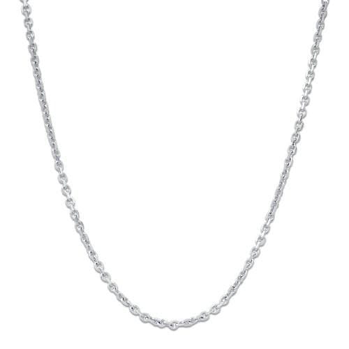 "16-22"" Adjustable Cable Chain in 14K White Gold"