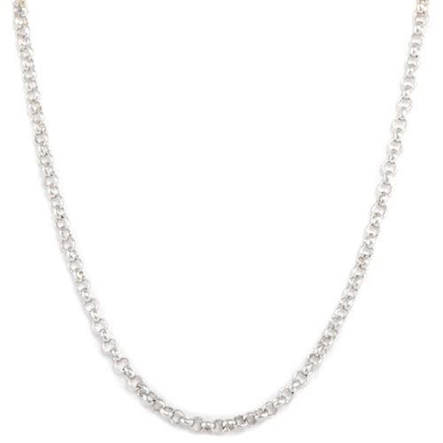 "16"" 1.0mm ""Rolo"" Chain in Sterling Silver - Maui Divers Jewelry"