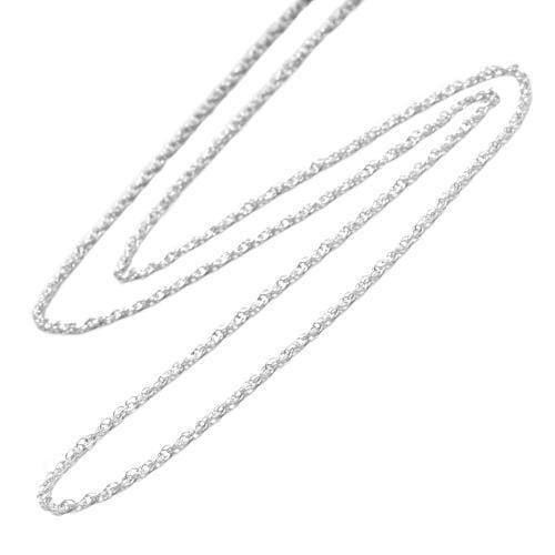 "Sterling Silver Rope Chain 16"" 1.5mm - Maui Divers Jewelry"