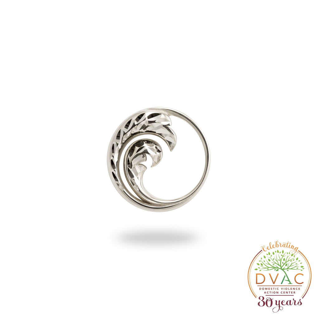 DVAC - Nalu Pendant in Sterling Silver - 18mm-[SKU]