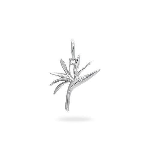 Bird of paradise charmpendant in sterling silver 15mm aloadofball Images