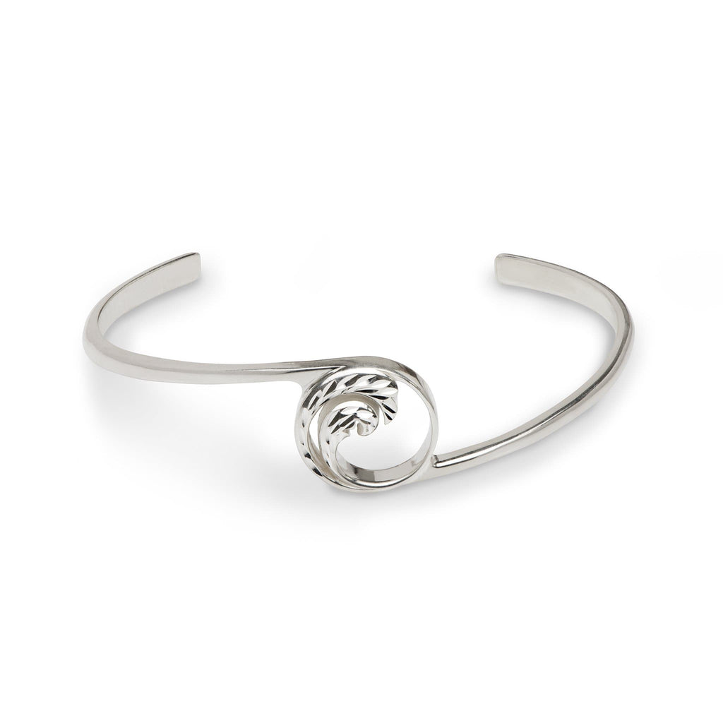 "Nalu Bracelet in Sterling Silver - 7.5"" - Maui Divers Jewelry"