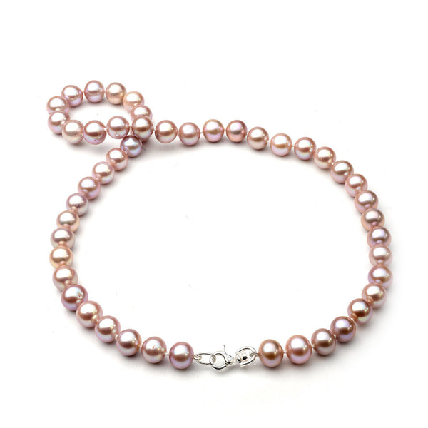 "18-19"" Freshwater Pearl Strand in Sterling Silver"