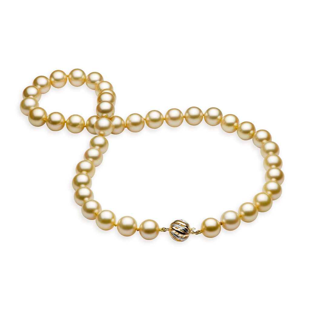 South Sea Golden Pearl Strand in 14K Yellow Gold