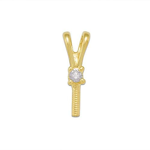 Pick-a-Pearl Pendant in Gold with Diamonds