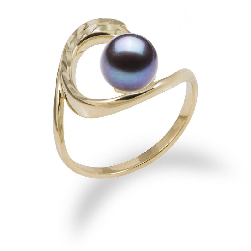 Pick a Pearl Ring in 14K Yellow Gold-[SKU]