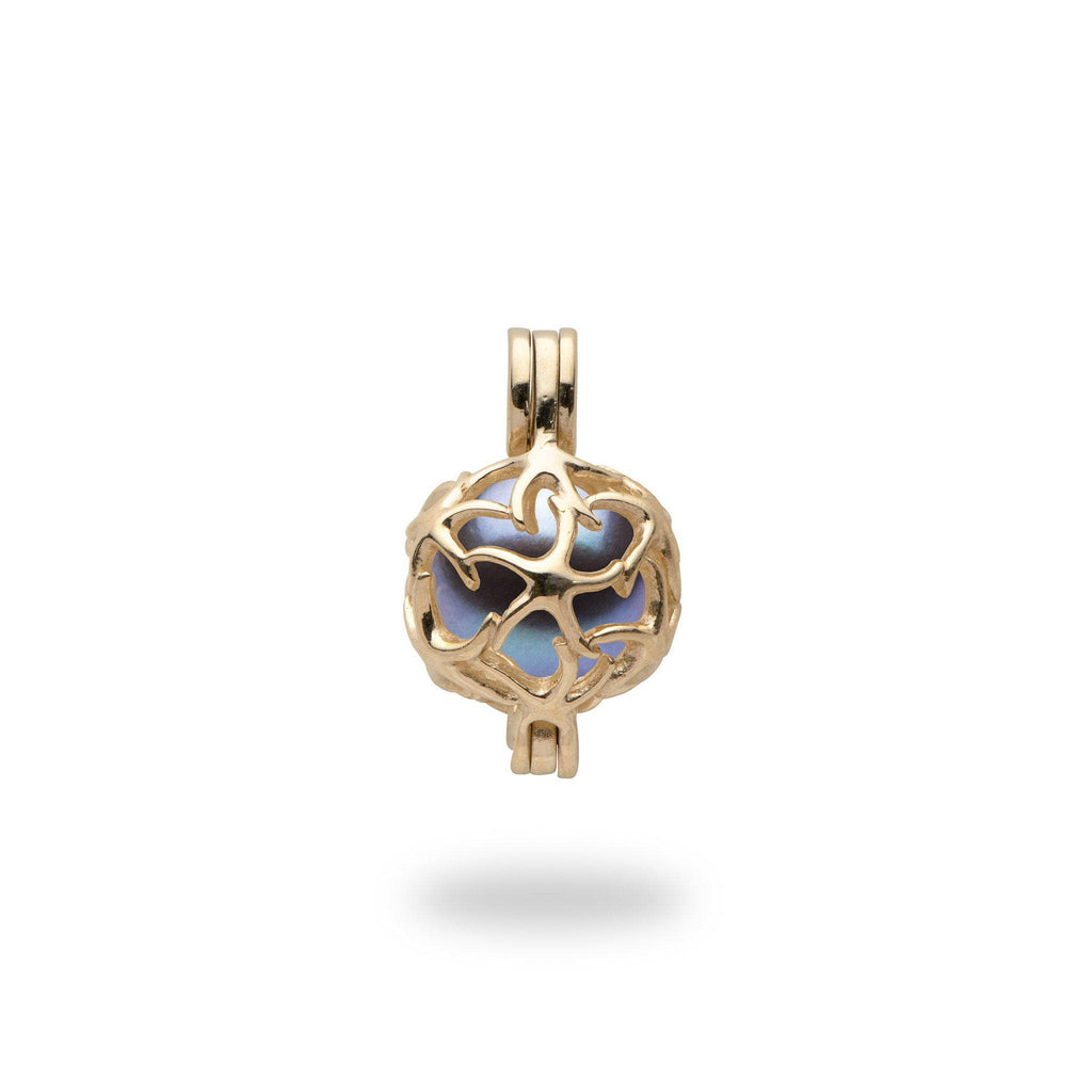 Starfish Cage Mounting in 14K Yellow Gold-[SKU]