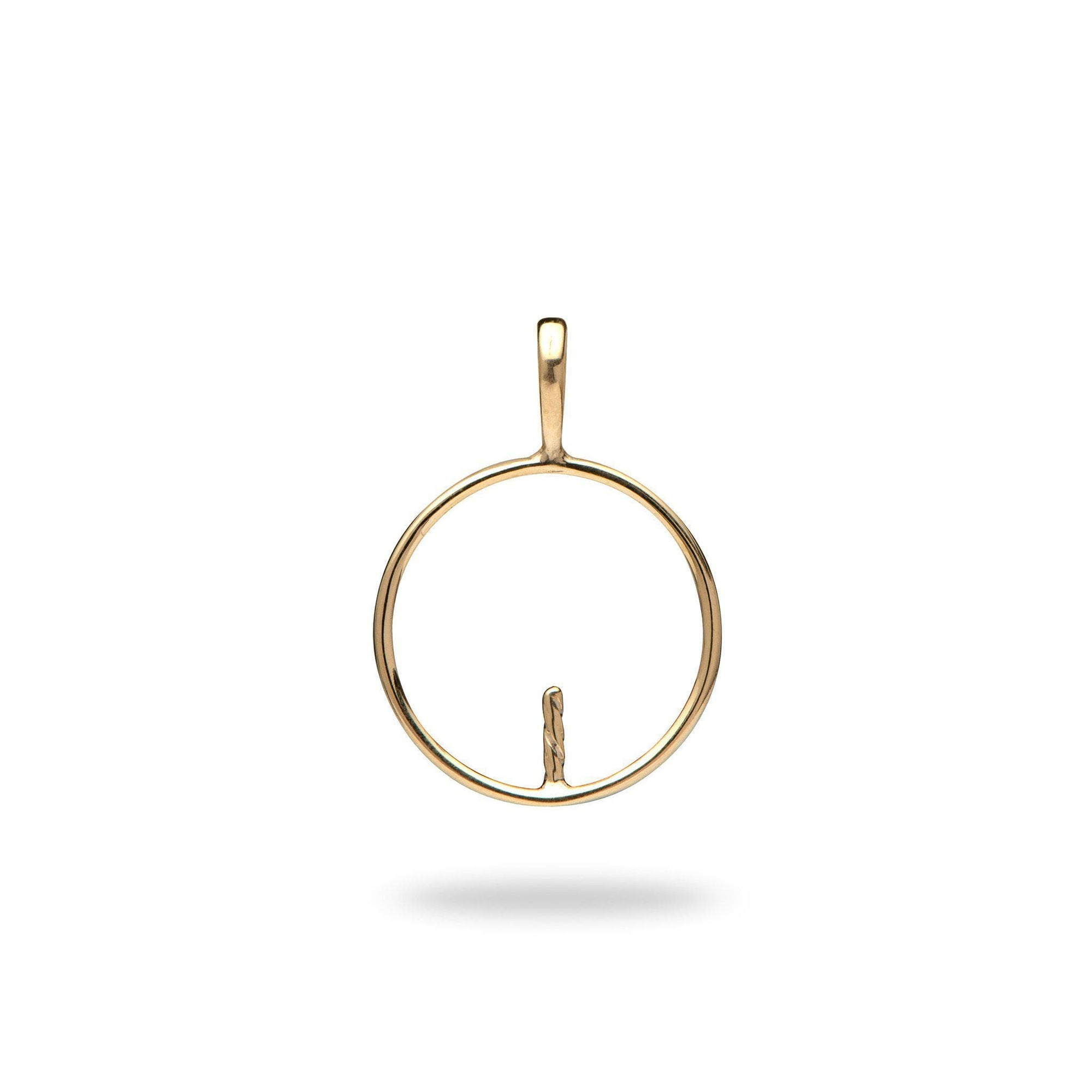 Pick-a-Pearl Circle of Life Pendant in Gold-[SKU]