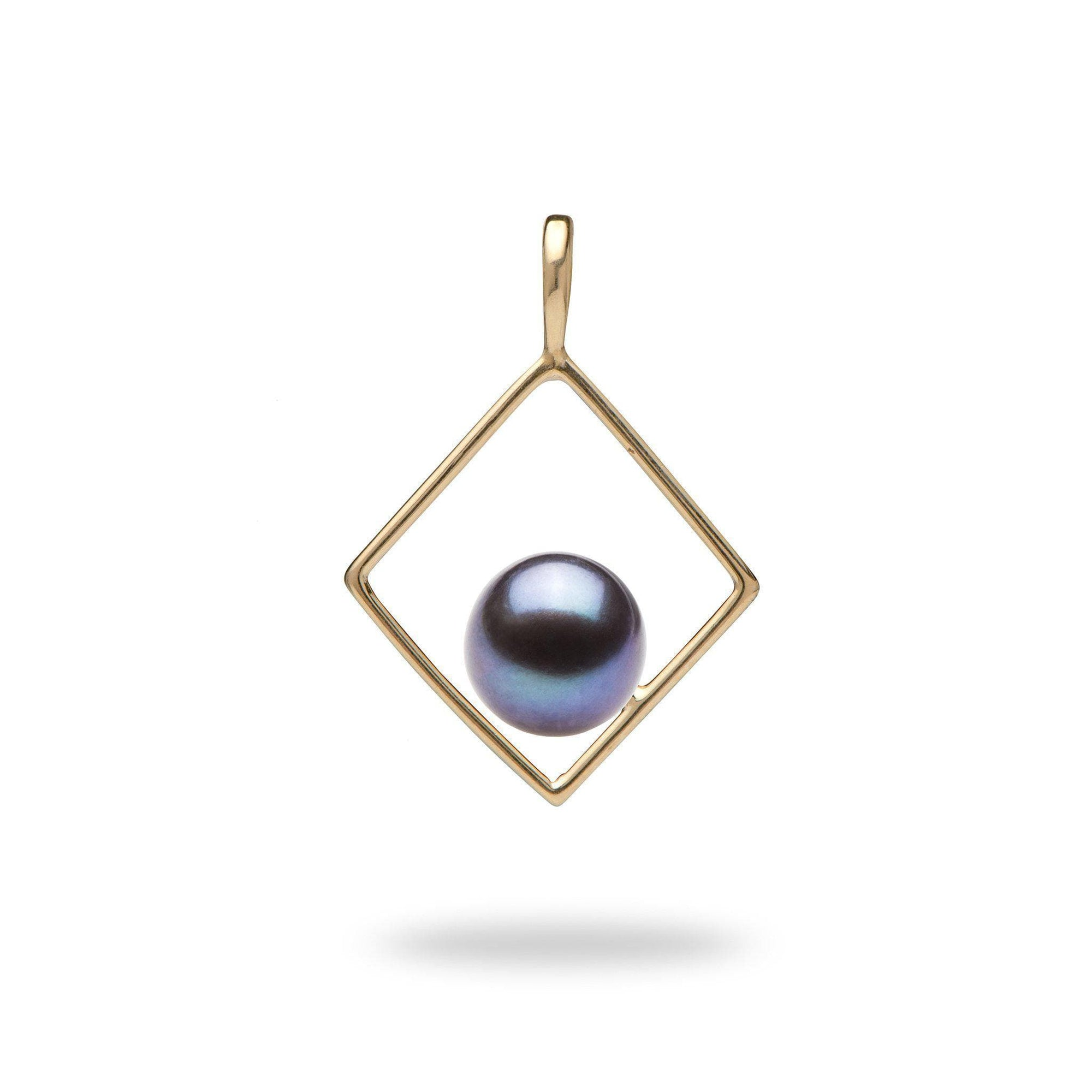 Pick-a-Pearl Diamond Pendant in Gold - Maui Divers Jewelry