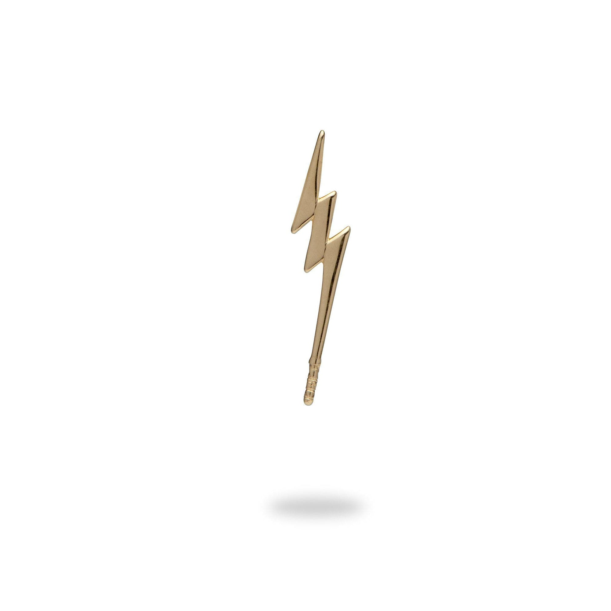 Lighting Bolt Pendant in 10K Yellow Gold-[SKU]