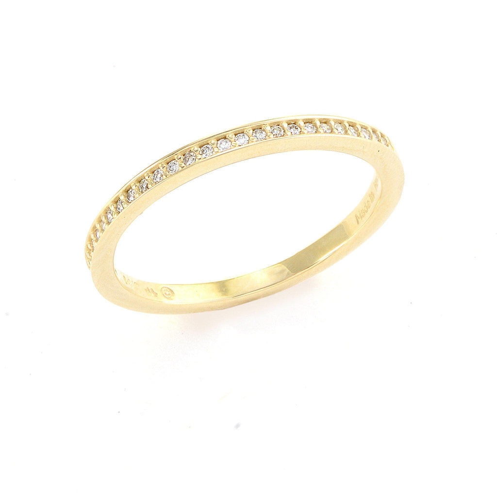 Diamond Anniversary Ring in 14K Yellow Gold 088-01142