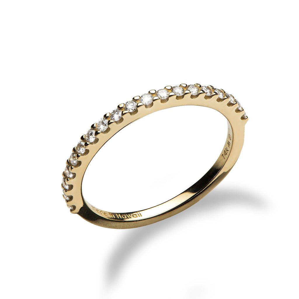 Diamond Anniversary Ring in 14K Yellow Gold