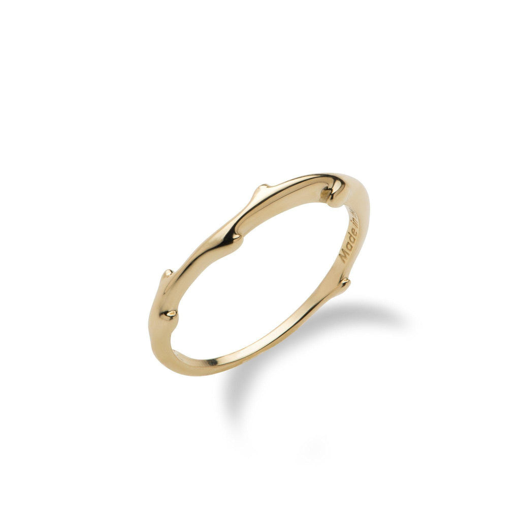 Hawaiian Heritage Ring in 14K Yellow Gold - Maui Divers Jewelry