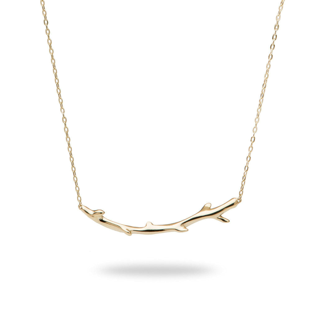 Hawaiian Heritage Necklace in 14K Yellow Gold