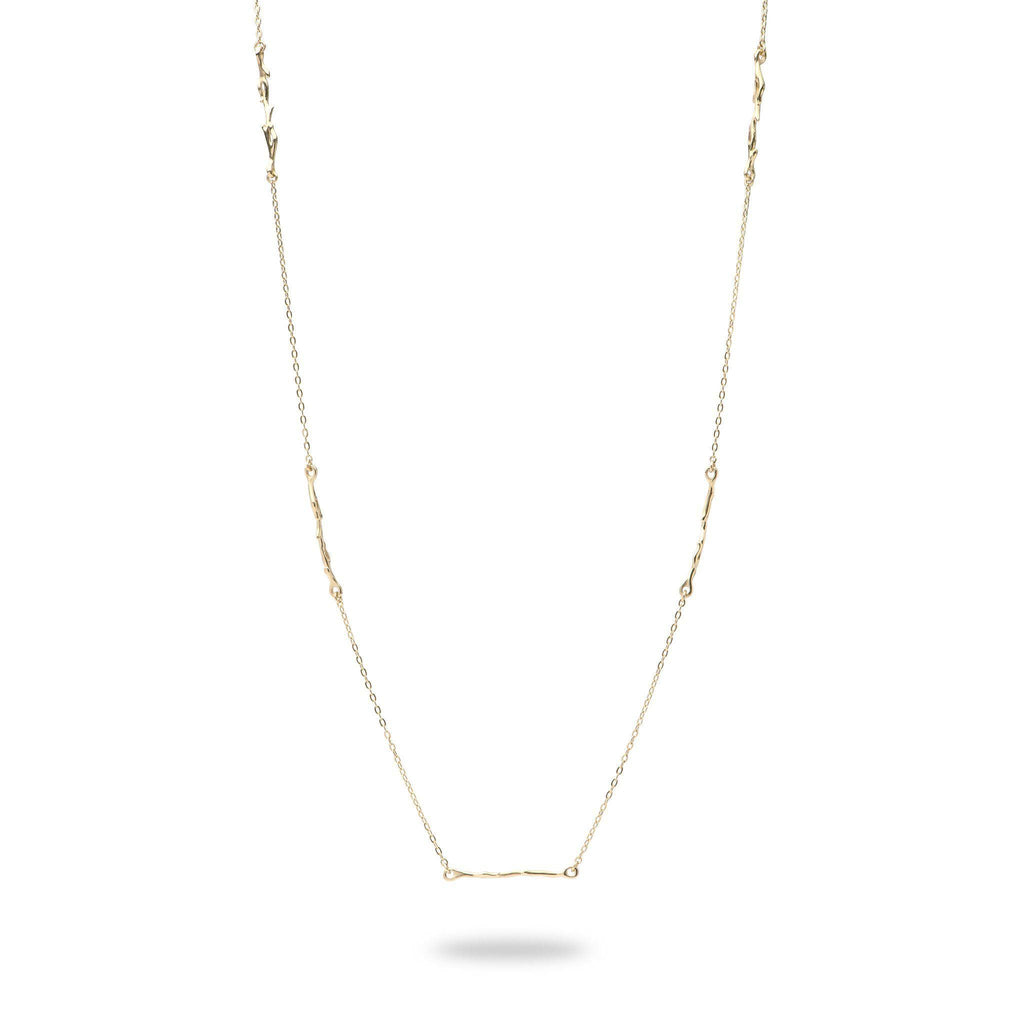 Hawaiian Heritage Necklace in 14K Yellow Gold 100-01875