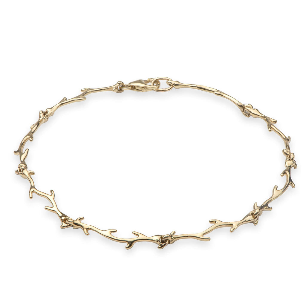 Hawaiian Heritage Bracelet in 14K Yellow Gold