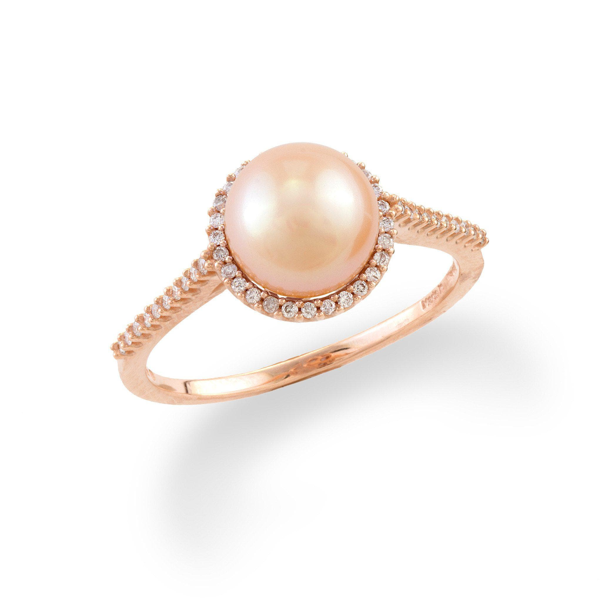 aurea ring grey rings products gold with pearl rose engagement freshwater