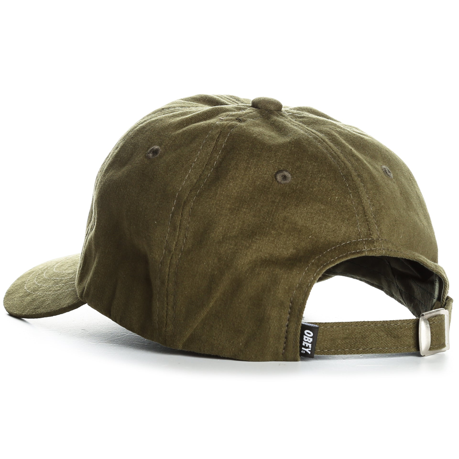 Obey Jumble Bar IIl 6 Panel Hat - Army - New Star 88dbe7676da5