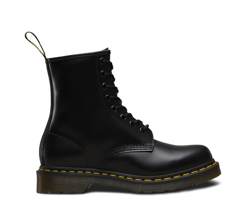 Dr Martens Women's 1460 Smooth Boot - Black Smooth