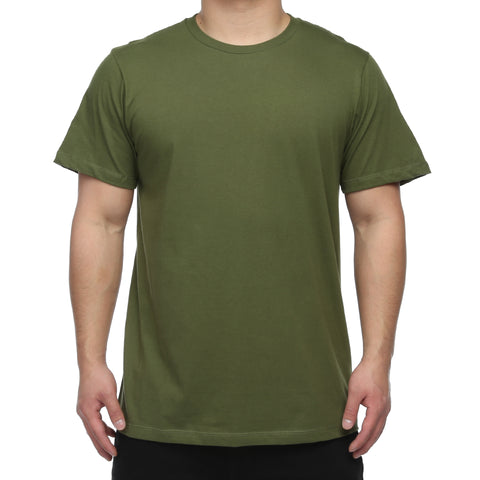 New Star Ultra Soft S/S Crew Tee - Army Green