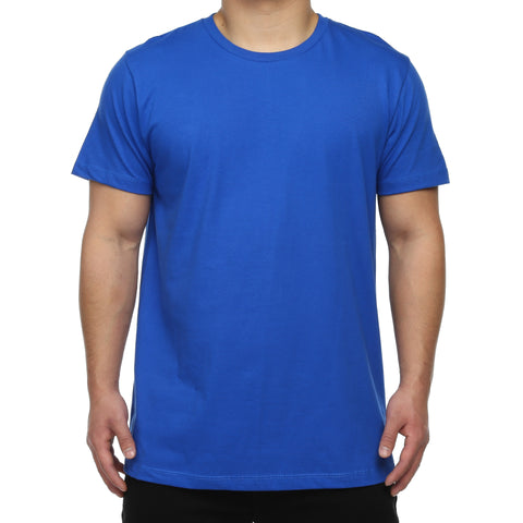 New Star Ultra Soft S/S Crew Tee - Royal Blue
