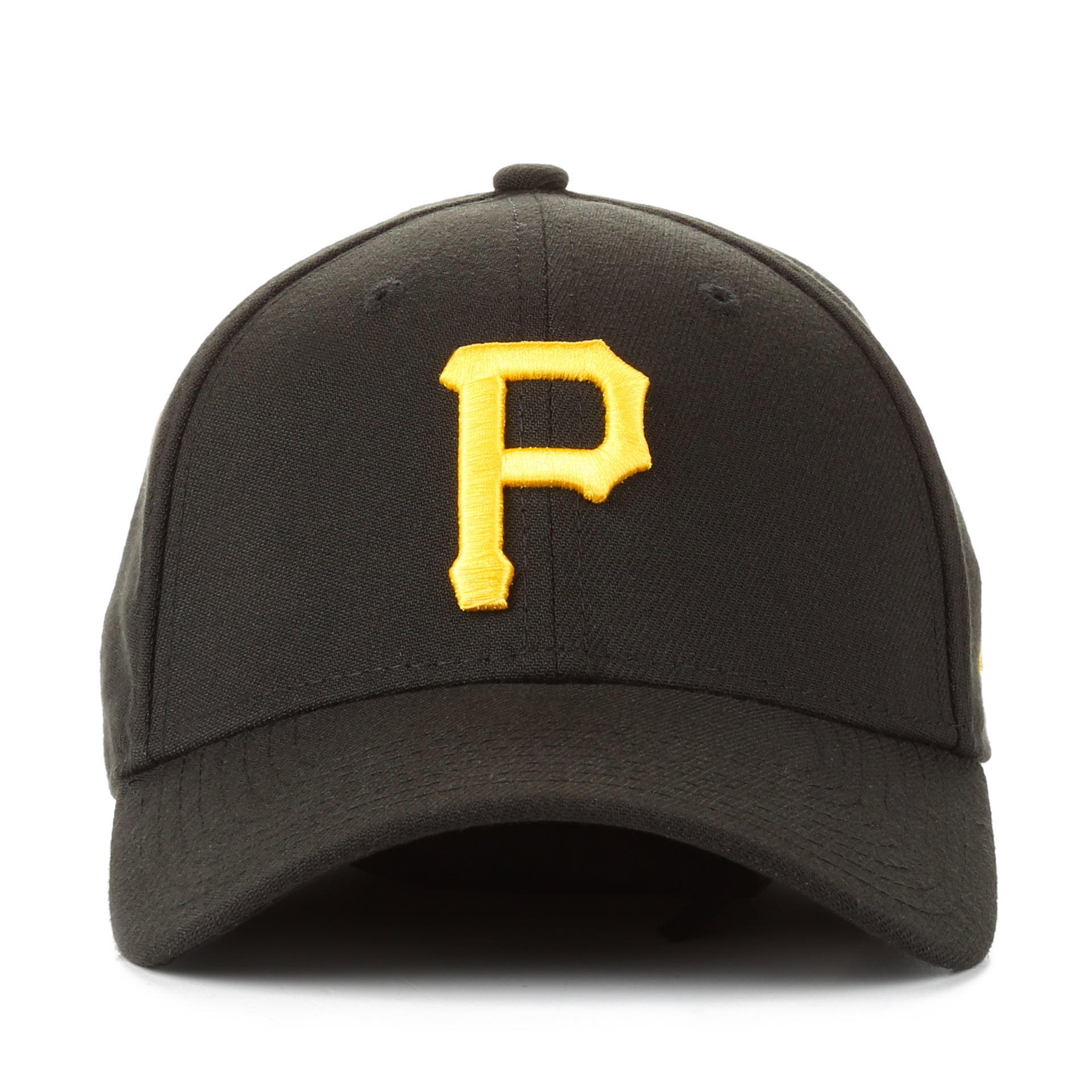 New Era 39Thirty Team Classic Stretch Fit Cap - Pittsburgh Pirates Black 28e768bfc39e