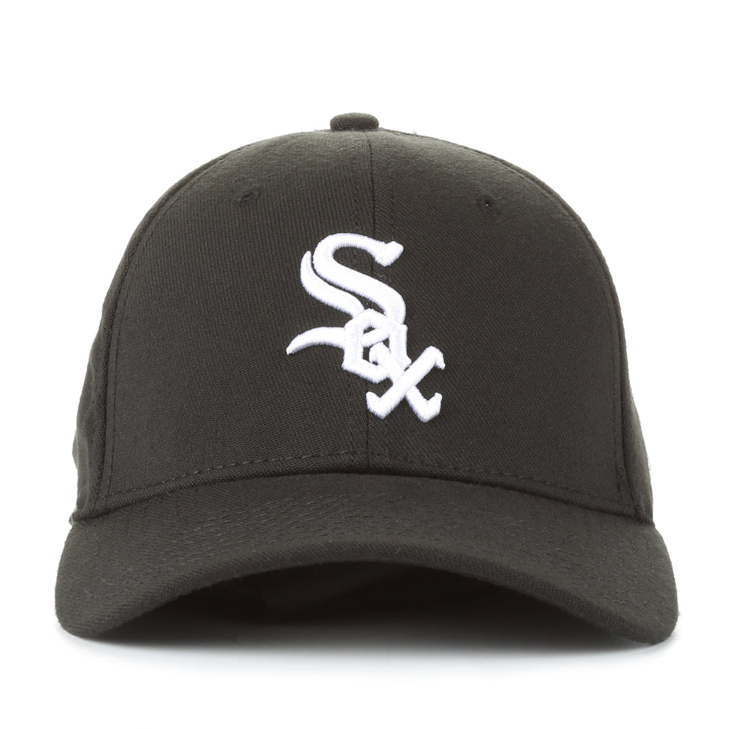 brand new 21b14 f8b8e ... flex fit hat 6cb74 8cfab  low price new era 39thirty team classic  stretch fit cap chicago white sox black 305a8 a41bb