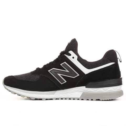 New Balance 574 Sport - Black/White
