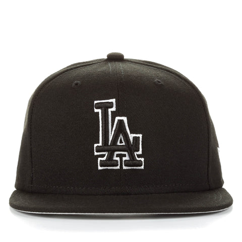 New Era 59Fifty League Basic Fitted Cap - Los Angeles Dodgers/Black