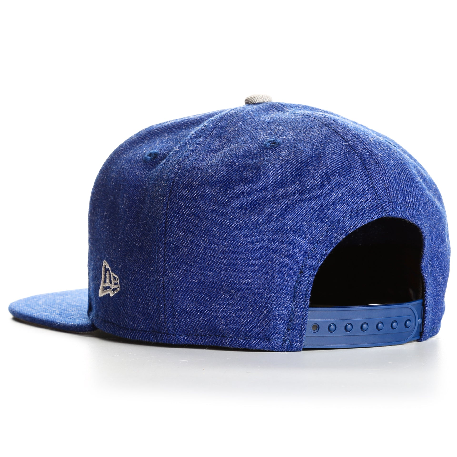 newest e9cf9 b0b8a New Era 9Fifty Los Angeles Dodgers Heather Hype Snapback - Blue Heather