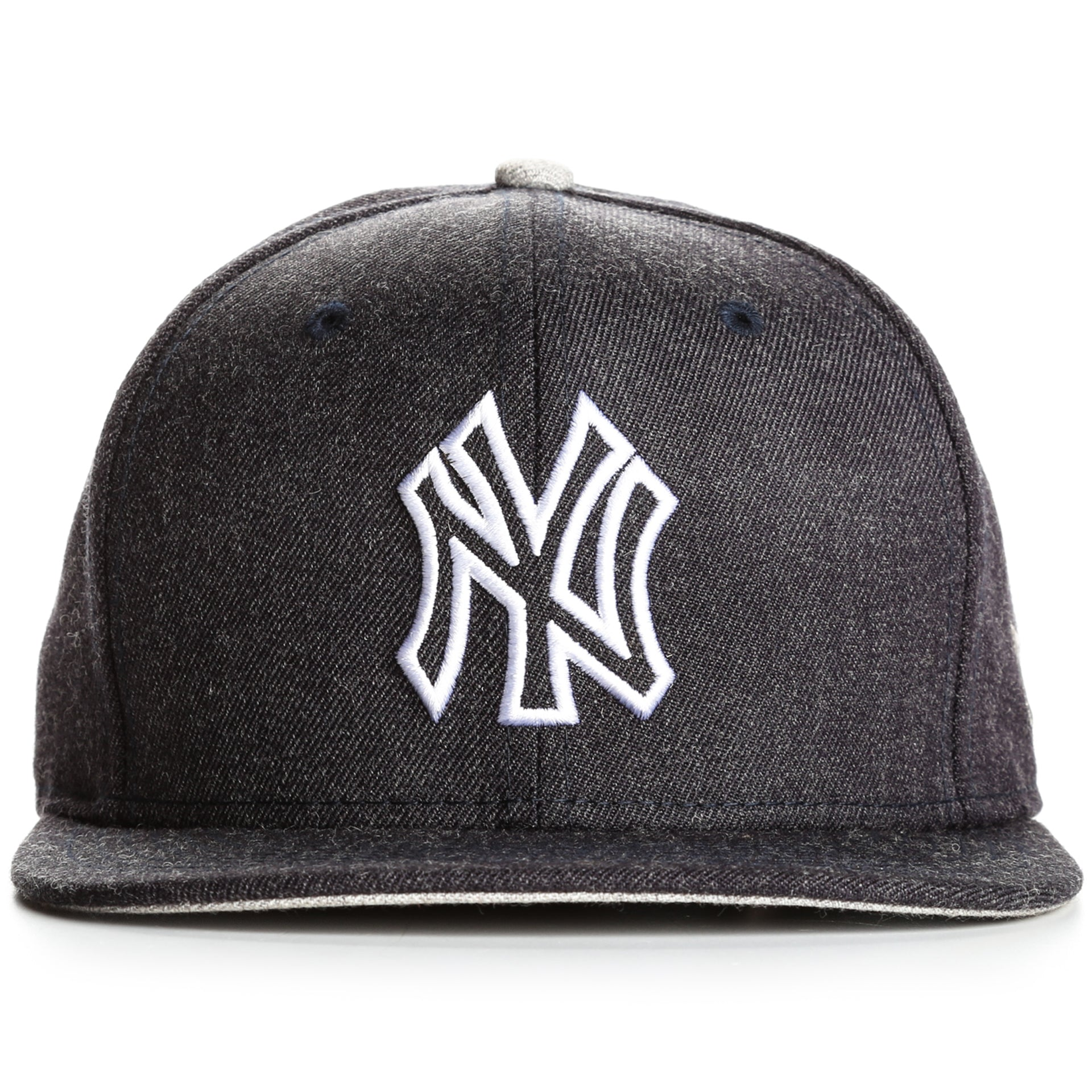 new style eb0f1 a901c New Era 9Fifty New York Yankees Heather Hype Snapback - Charcoal Heather