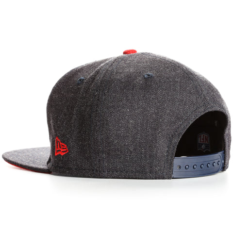 New Era 9Fifty New England Patriots Heather Hype Snapback - Charcoal Heather