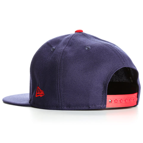 New Era 9Fifty Flag Fill Los Angeles Dodgers Snapback - Blue
