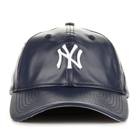 New Era 9Twenty PU Leather Squad Cap - New York Yankees/Navy