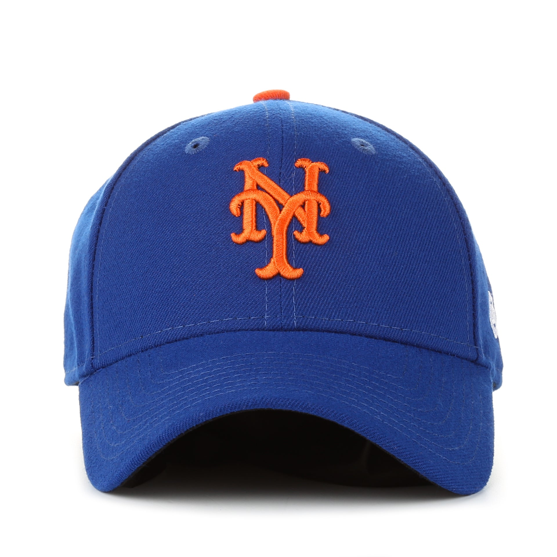 new era 9forty the league home cap new york mets blue new star