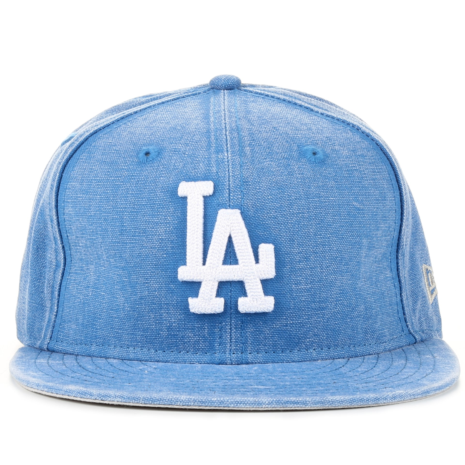 7a09a886d3b236 New Era 9Fifty Washed Over Snapback - Los Angeles Dodgers/Light Denim