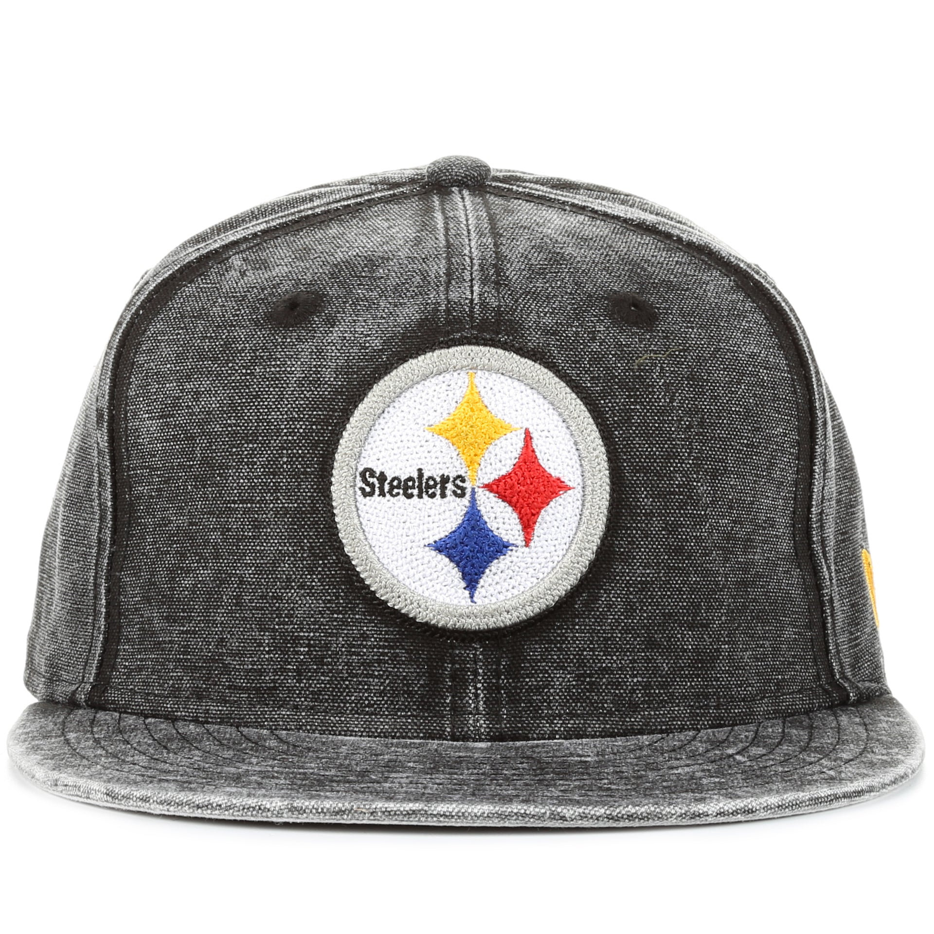 6aea61ec2 New Era 9Fifty Washed Over Snapback - Pittsburgh Steelers/Black Denim