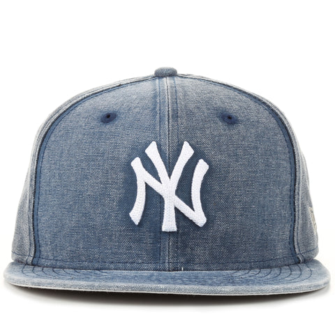 New Era 9Fifty Washed Over Snapback - New York Yankees/Dark Denim