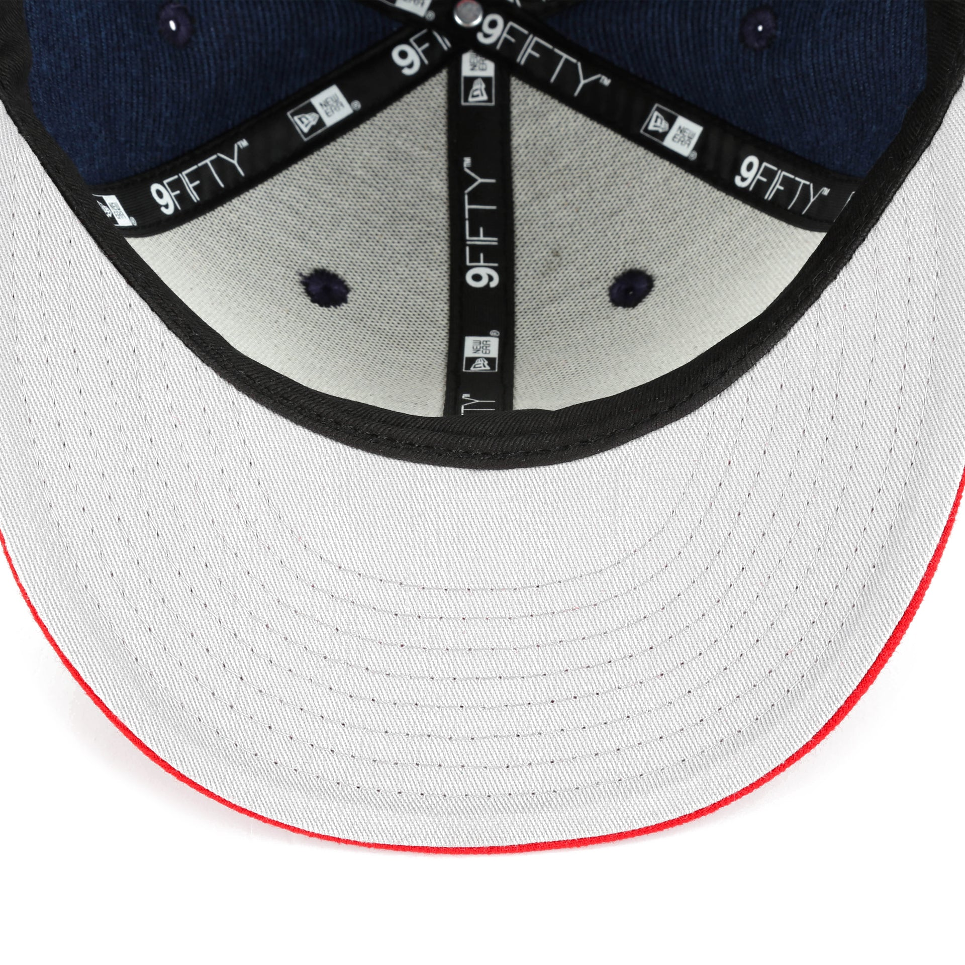 competitive price 0a440 30ffc New Era 9Fifty Classic Trim Snapback - Boston Red Sox Navy