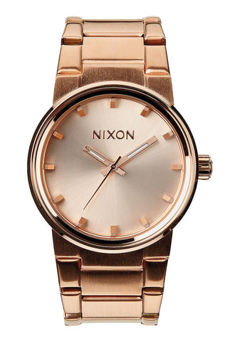 NIXON CANNON , 39 .5MM ALL ROSE GOLD