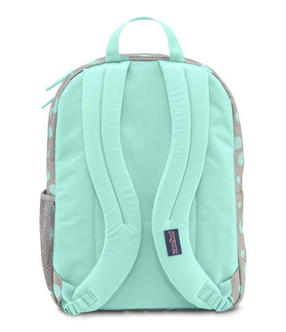 JANSPORT Big Student Backpack - Grey Rabbit Sylvia Dot